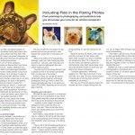 Fido in the Family Photos article