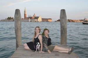 Family portrait in Venice